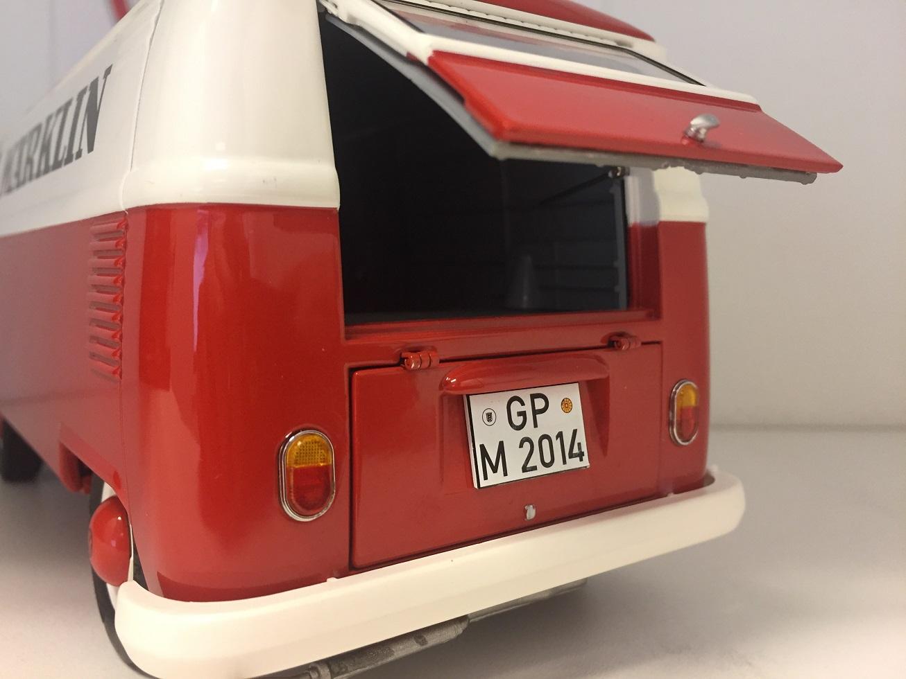 vr modelauto 39 s volkswagen t1 kastenwagen 1 18. Black Bedroom Furniture Sets. Home Design Ideas
